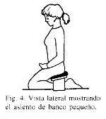 meditar con banquito